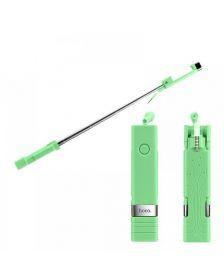 სელფის ჯოხი HOCO K4 Bluetooth Selfie Stick - Green
