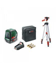 ლაზერული თარაზო, ჯვარედინი  Bosch PLL 2 Set
